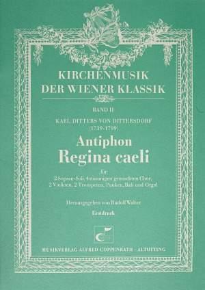 Dittersdorf: Regina caeli