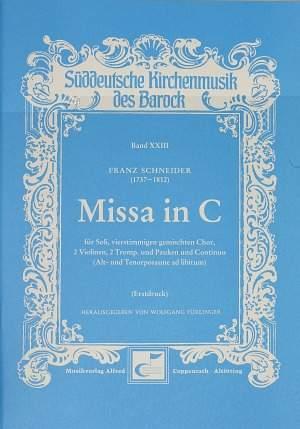 Schneider: Missa in C (C-Dur)