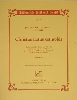 Vanhal: Christus natus est nobis