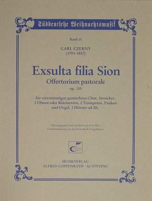 Czerny: Exsulta filia Sion (Op.155; D-Dur)