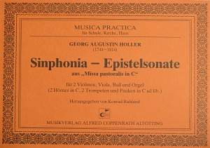 Holler: Synphonia-Epistelsonate (C-Dur)