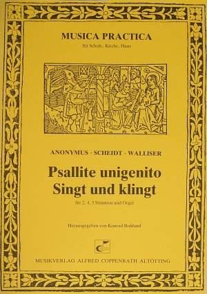 Walliser: Psallite unigenito