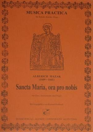 Mazak: Sancta Maria, ora pro nobis (F-Dur)