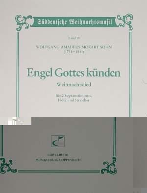 Mozart Sohn: Engel Gottes künden (G-Dur)
