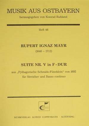 Mayr: Suite Nr. V in F-Dur (F-Dur)