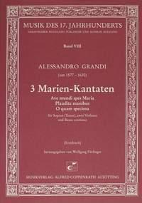 Grandi: 3 Marien-Kantaten