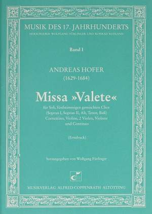 Hofer: Missa Valete