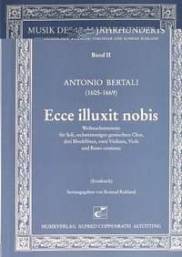 Bertali: Ecce illuxit nobis