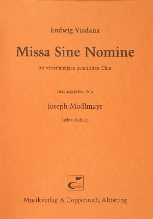 Viadana: Missa Sine Nomine (G-Dur)