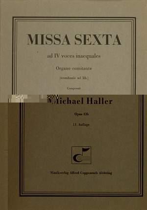 Haller: Missa Sexta (13b; F-Dur)