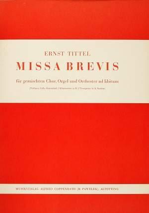 Tittel: Missa brevis