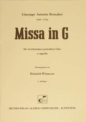 Bernabei: Missa in G (G-Dur)