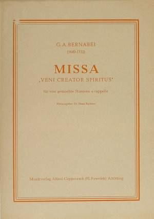 Bernabei: Missa (a-Moll)