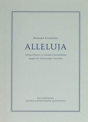 Kronsteiner: Alleluja Jubilus-Chorsätze
