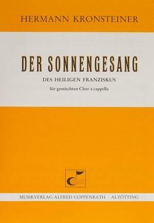 Kronsteiner: Der Sonnengesang des Heiligen Franziskus (D-Dur)