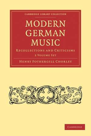 Modern German Music 2 Volume Paperback Set