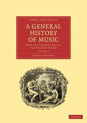 A General History of Music Volume 3