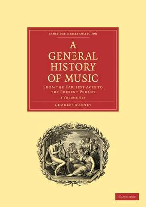 A General History of Music 4 Volume Paperback Set