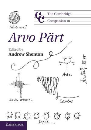 The Cambridge Companion to Arvo Pärt