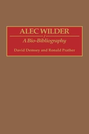 Alec Wilder: A Bio-Bibliography