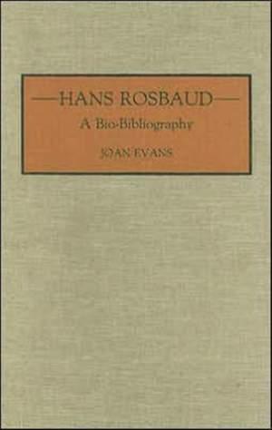 Hans Rosbaud: A Bio-Bibliography