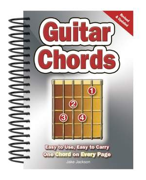 Guitar Chords: Easy-to-Use, Easy-to-Carry, One Chord on Every Page Product Image