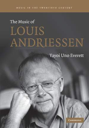 The Music of Louis Andriessen Product Image
