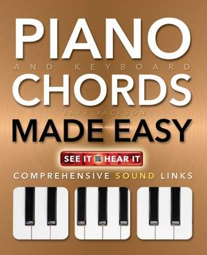 Piano and Keyboard Chords Made Easy: Comprehensive Sound Links Product Image