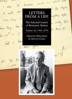 Letters from a Life: the Selected Letters of Ben - Volume Six: 1966-1976