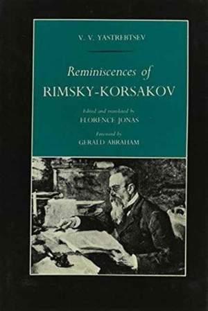 Reminiscences of Rimsky-Korsakov by V. V. Yastrebtsev
