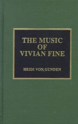 The Music of Vivian Fine