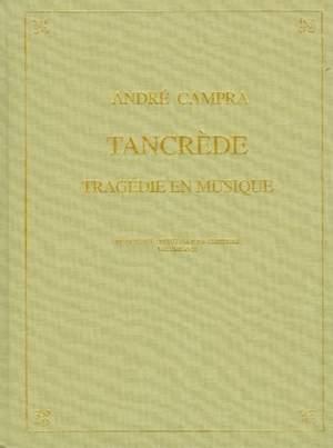 Tancrede (Paris Opera 1702) - A Tragedie En Musique