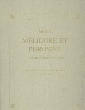 Melidore et Phrosine