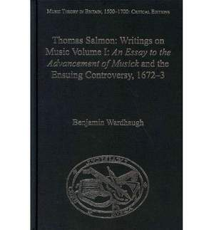 Thomas Salmon: Writings on Music: Writings on Music