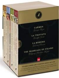 Black Dog Opera Library Box Set: Includes La Boheme, Carmen, La Traviata and The Marriage of Figaro