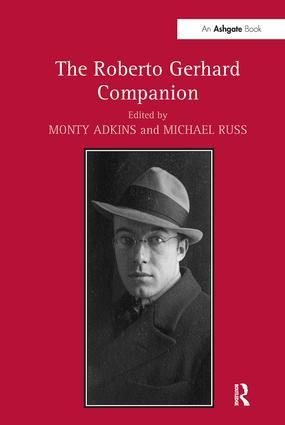 The Roberto Gerhard Companion