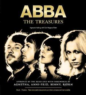 ABBA - The Treasures: Approved by the band and with forewords by Agnetha, Anni-Frid, Benny and Bjoern