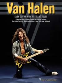 Van Halen Easy Guitar Riffs and Solos