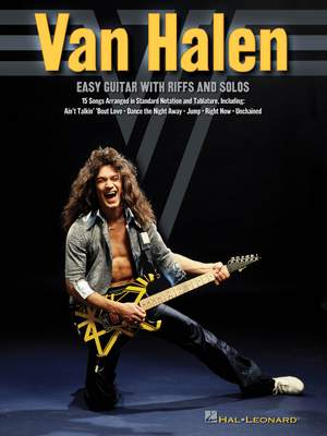 Van Halen Easy Guitar Riffs and Solos Product Image