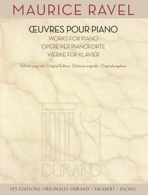 Maurice Ravel: Complete Works for Piano Product Image