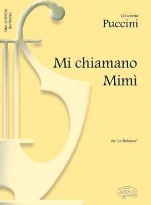 Giacomo Puccini: Mi chiamano Mimì, da La Bohème