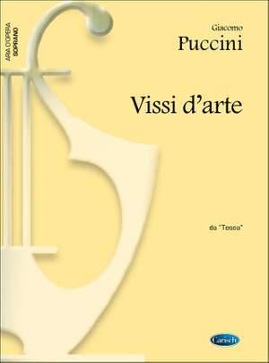 Giacomo Puccini: Vissi d'arte, da 'Tosca'