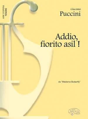Giacomo Puccini: Addio, fiorito asil!, da Madame Butterfly
