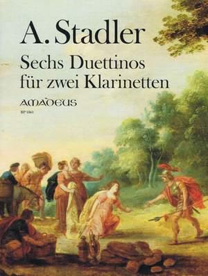 Stadler, A: Six Duettinos progressives