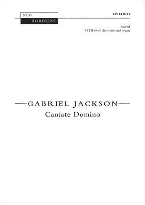 Jackson, Gabriel: Cantate Domino