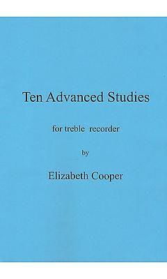 Cooper, Elizabeth: Ten Advanced Studies for treble recorder