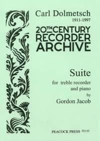 Gordon Jacob: Suite for Treble Recorder and Piano