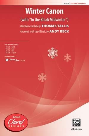 Thomas Tallis: Winter Canon SATB Product Image