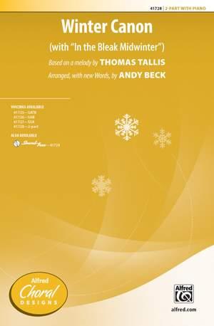 Thomas Tallis: Winter Canon 2-Part Product Image
