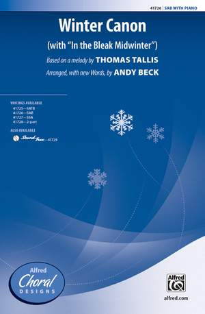 Thomas Tallis: Winter Canon SAB Product Image